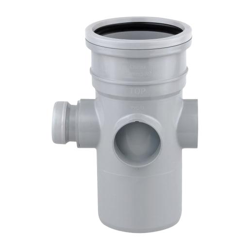 OsmaSoil Ring Seal System Bossed Pipe Grey 110mmDia
