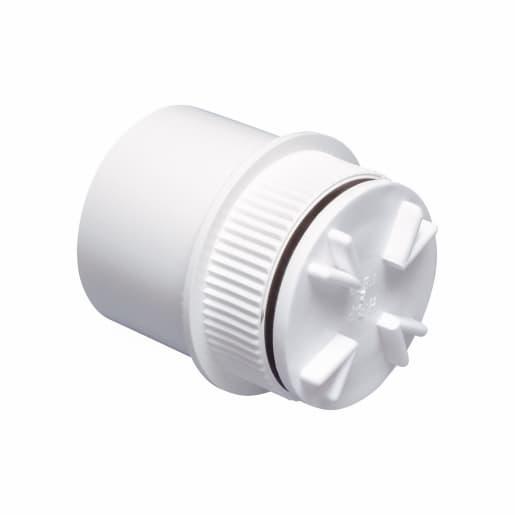 Osma Access Plug Push Fit 40mm White