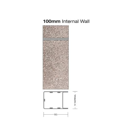 Birtley SB100 Internal Wall Steel Box Lintel 1500 x 73mm