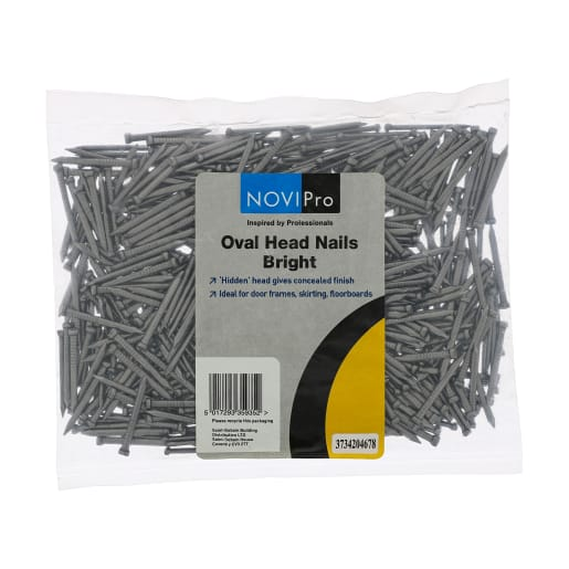Oval Wire Nails 30mm Bright 0.5kg Pack