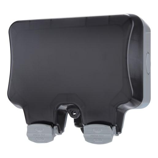 BG Electrical Nexus Storm 2-Gang Outdoor Power Kit