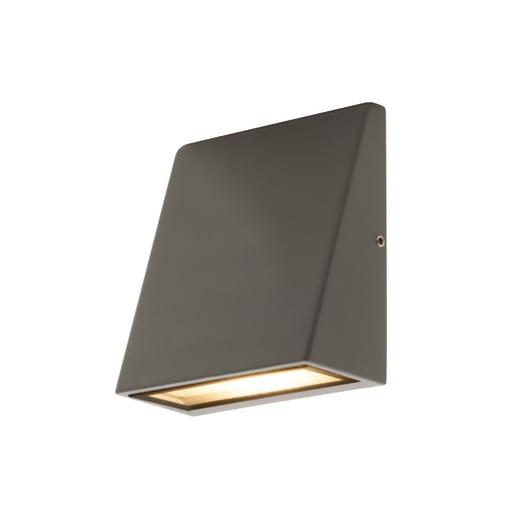 Luceco Exterior Decorative Wedge 3W IP54 110 x 50 x 95mm Grey