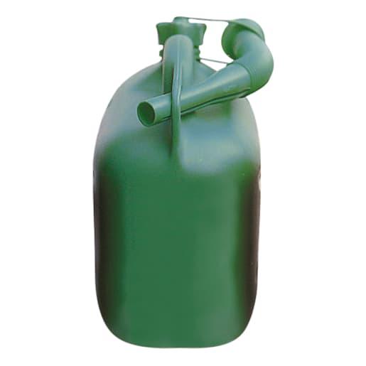 5 Litre GREEN HD PLASTIC FUEL CAN UNLEADED