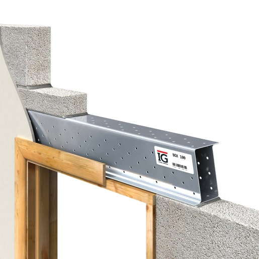 IG BOX 100 Steel Lintel 75mm X 1500mm