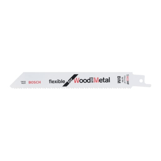 Bosch Jigsaw Blade Flexible For Metal 150mm White