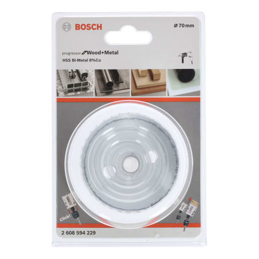 Bosch Hole Saw Progressor 70mm White