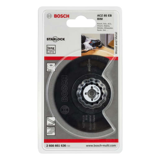 Bosch Segmental Saw Blade ACZ 85 EB 85mm Black