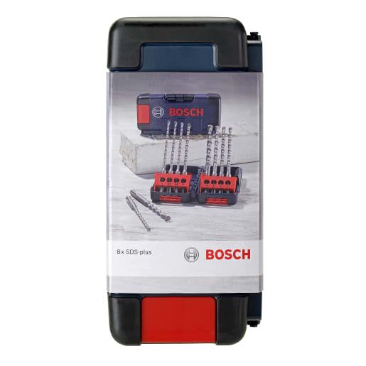 Bosch SDS-Plus Drill Bit Set Brute in Tough Box 8-Piece