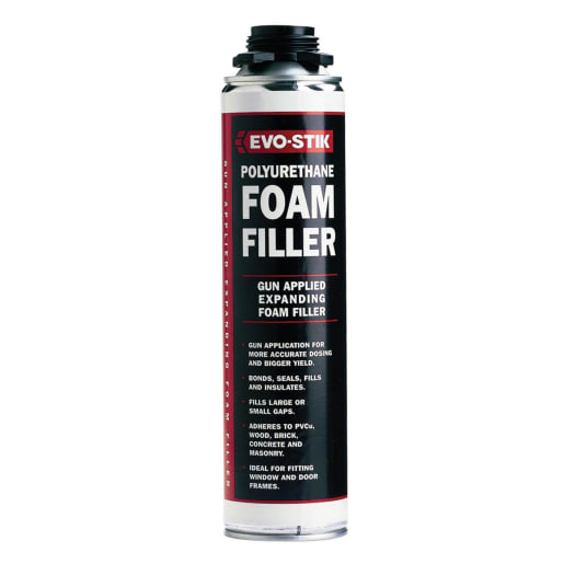 Evo-Stik Expanding Gun-Applied Foam Filler 700ml