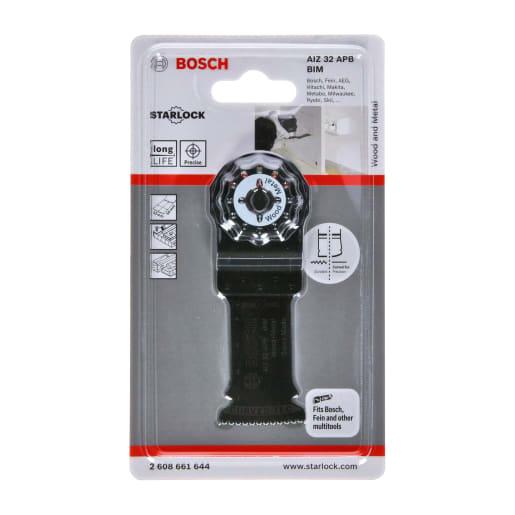 Bosch Plunge-Cutting Saw Blade AIZ 32 APB 32mm Black