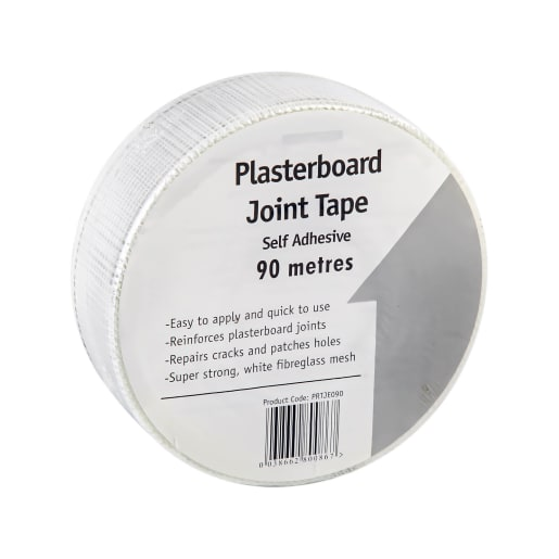 Silverhouse Plasterboard Joint Tape Self Adhesive 90m x 48mm