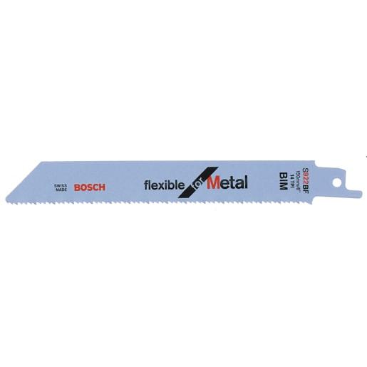 Bosch Jigsaw Blade Flexible For Metal 150mm Blue