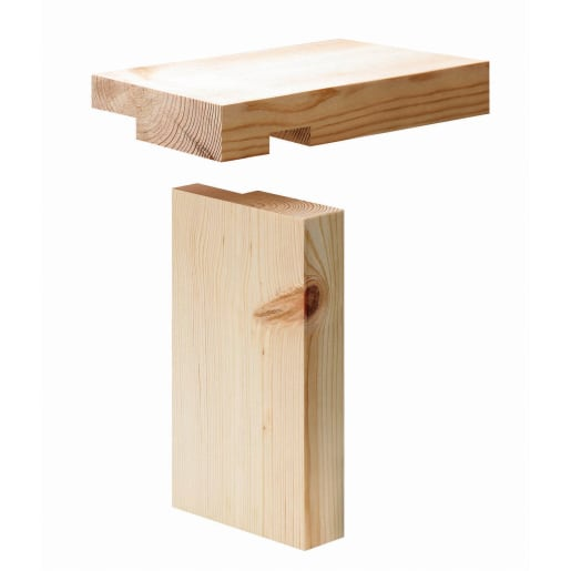PEFC Redwood Casing Set 38 x 115 (Act Size 33 x 106mm)