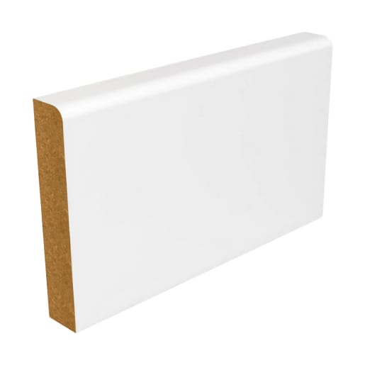 MDF Pencil Round Architrave 4200 x 44 x 14.5mm Primed