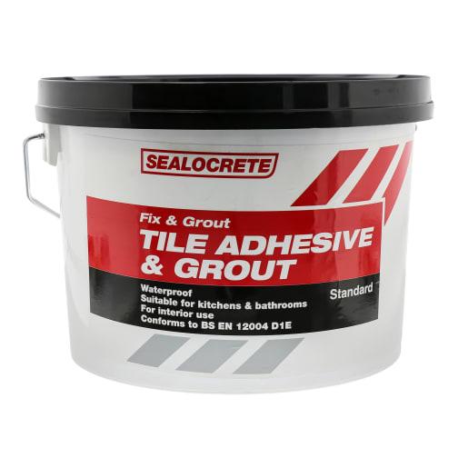 Sealocrete Fix and Grout Tile Adhesive Standard 2.5 Litre White