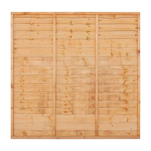 Grange Superior Lap Fence Panel 1.5 x 1.8m