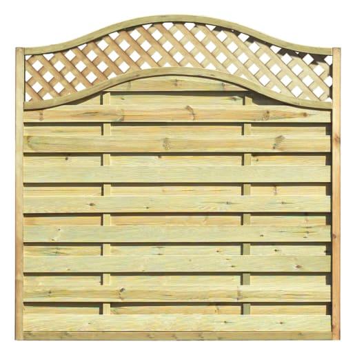 Grange Elite St Meloir Fence Panel 1.8 x 1.8m