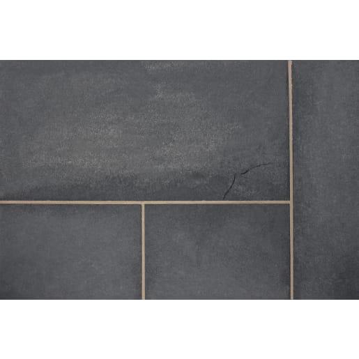 Marshalls Limestone Paving Pack 17.54m² Charcoal