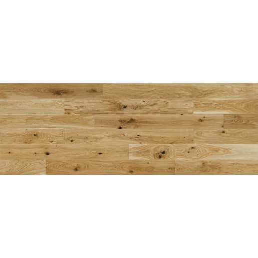 Basix 14mm Engineered Wood Floor 1-Strip Natural Oak 130X1092mm 0.99m²