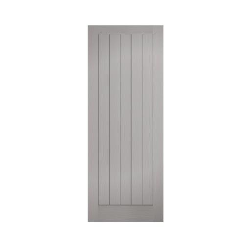Vertical 5 Panel Prefinished Grey Door 762 x 1981mm