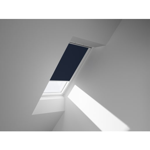 VELUX Manual blackout blind roof windows 66x118cm until 2014 Dblue