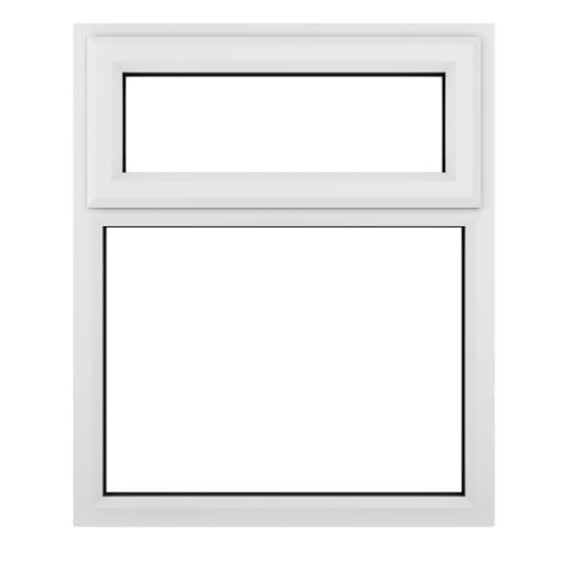 PVC-U Top Hung Window 905 x 965 mm White