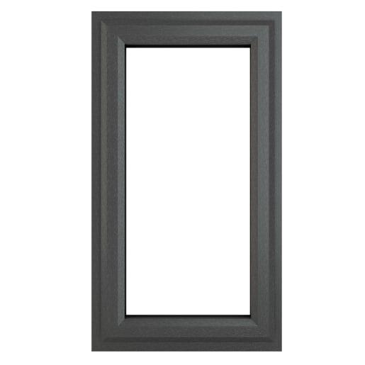 PVC-U Top Opener Window 610 x 1040 mm Grey/White