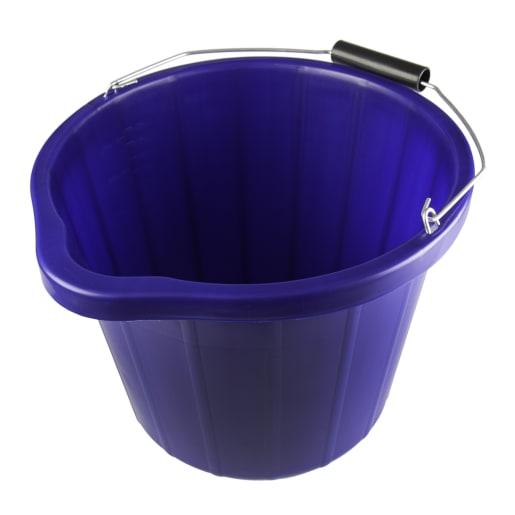 NOVIPro Heavy Duty Bucket 3 Gallon Blue