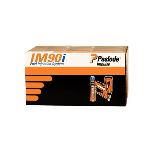 Paslode Fuel Cell + Galvanised Straight Nails 90 x 3.1mm Pack of 1250
