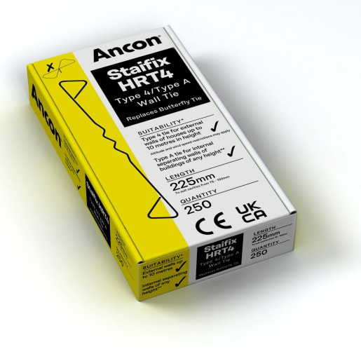 Ancon Staifix HRT4 Light Duty Tie 225mm Pack of 250