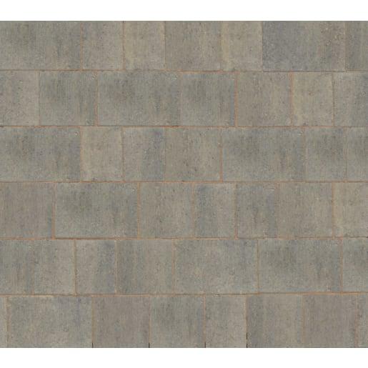 Marshalls Drivesett Savanna® Block Paving 120 x 160 x 50mm Grey