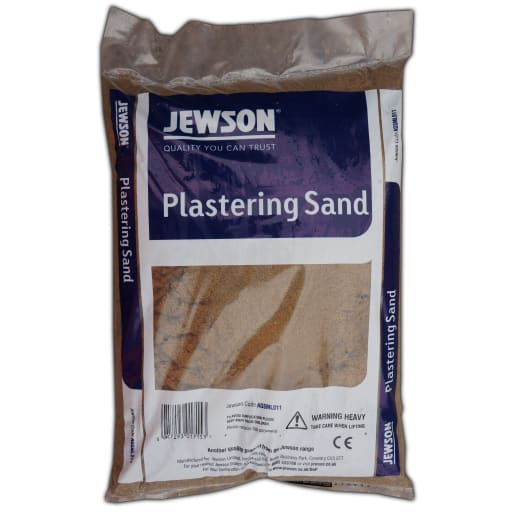 Jewson Plastering Sand Handy Bag 25kg