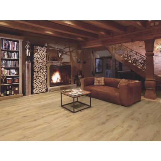 Swiss Touch Natural Light Oak 8mm Laminate Flooring 193 X 1380mm