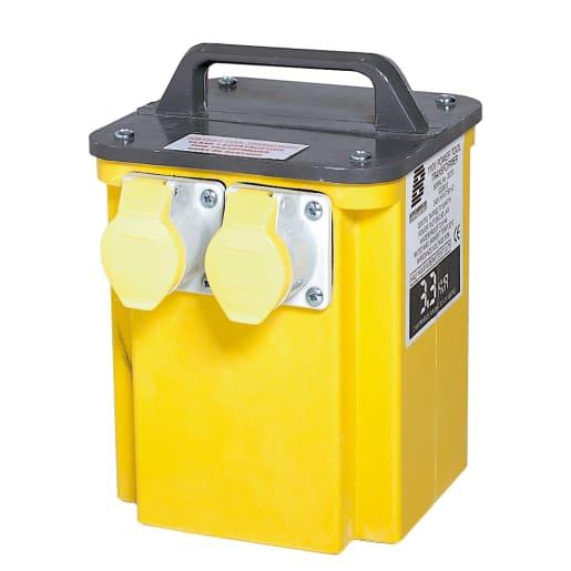 Defender Transformer 3 KVA Yellow
