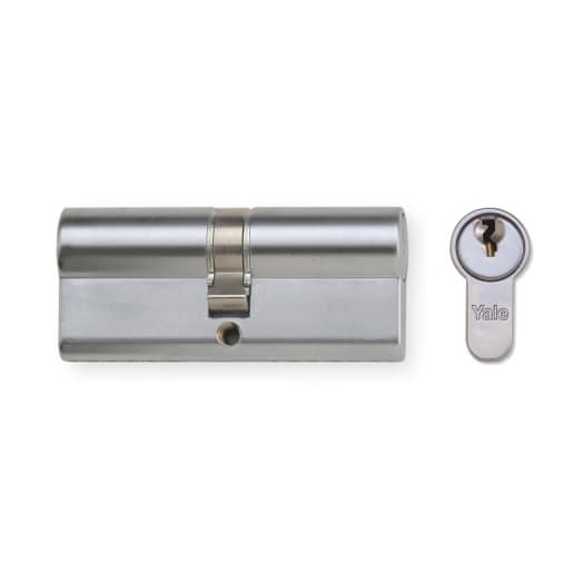 Yale Security 6 Pin Euro Profile Cylinder 50 x 40mm