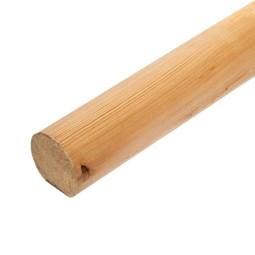 Redwood Mopstick Handrail 50 x 50mm (Act Size 45 x 45mm)