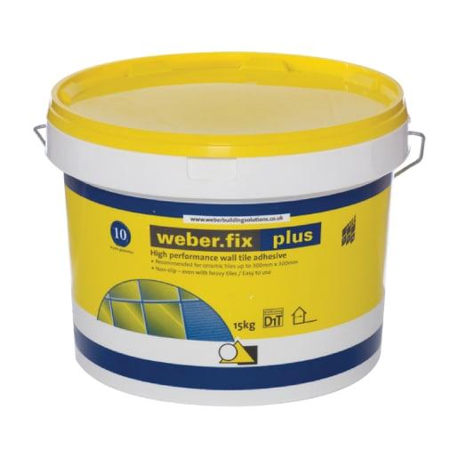 Weber Fix Plus Tile Adhesive 15kg White