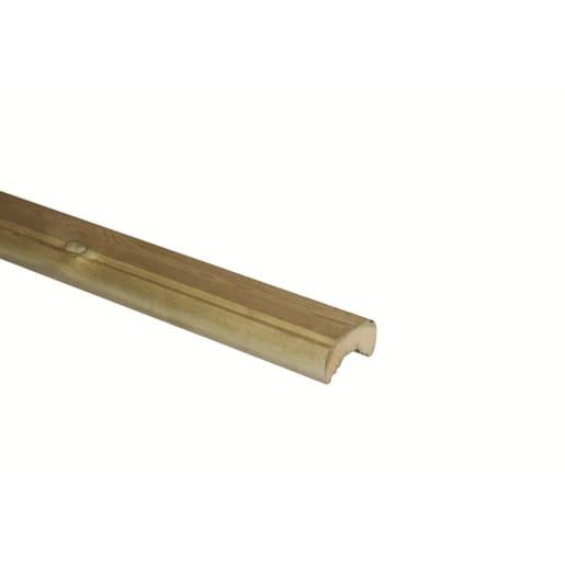 Richard Burbidge Traditional Decking Rail 1800 x 66 x 32mm