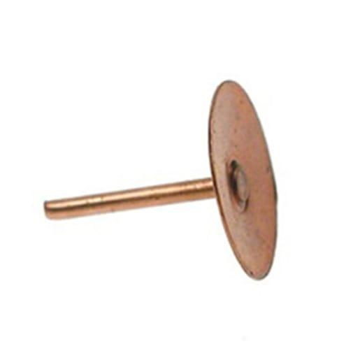 Unifix Copper Disc Rivets 0.75