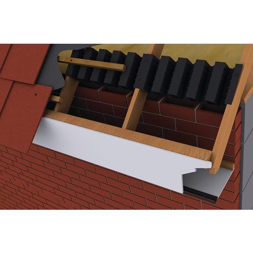 Timloc Roll Form Eaves Vent Black 6M x 300mm