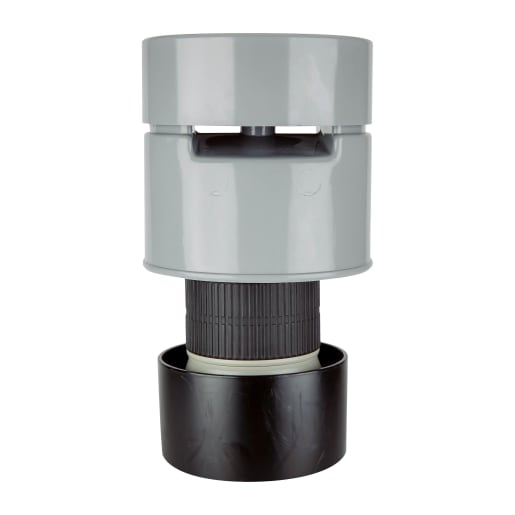 Polypipe Soil Poly Valve 110mm Grey