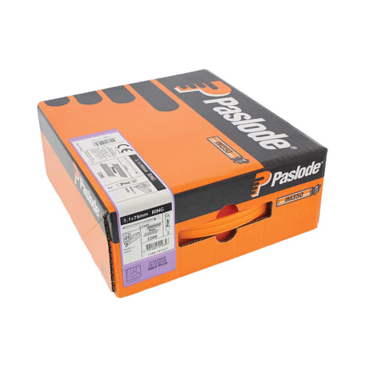 Paslode Galvanised Ring Nail Fuel Pack 75 x 3.1mm for IM350+