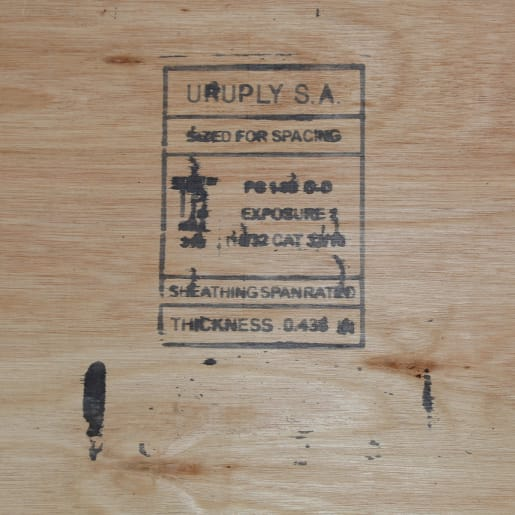 CDX Eucalyptus Structural Sheathing Plywood PEFC 2440 x 1220 x 12mm