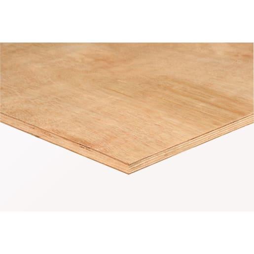 Eucalyptus Hardwood Plywood FSC 2440 x 1220 x 18mm