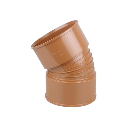 Osma UltraRib 30° Double Socket Bend 150mm