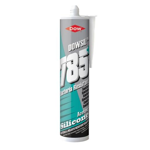 Dow Dowsil 785 Sanitary Silicone Sealant 310ml Clear
