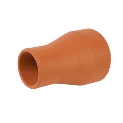 Hepworth SuperSleve HouseDrain Taper Pipe 370 x 100mm Brown