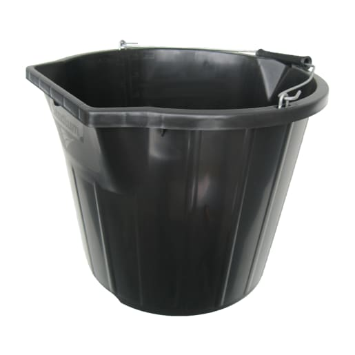 Stadium Economy Bucket Black 3 Gallon