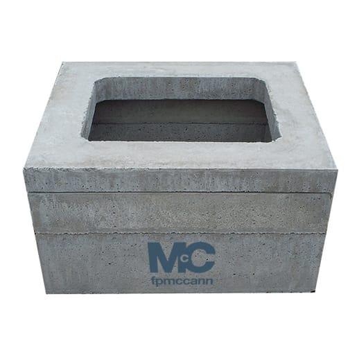FP McCann Precast House Inspection Chamber Section 1200 x 750 x 150mm